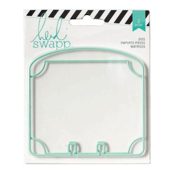 Tools - HS - MemoryDex - Cutting Die - Oval Dividers - P