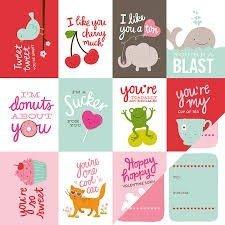 Papel para scrapbooking Pebbles Be Mine - Valentines - P