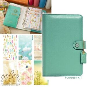 Descontinuado - Color Crush Planner Kit - Light Teal