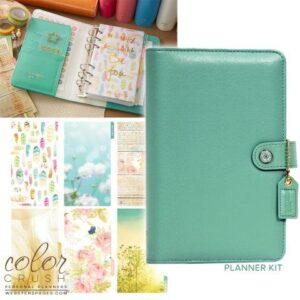 Descontinuado - Color Crush Planner Kit - Light Teal