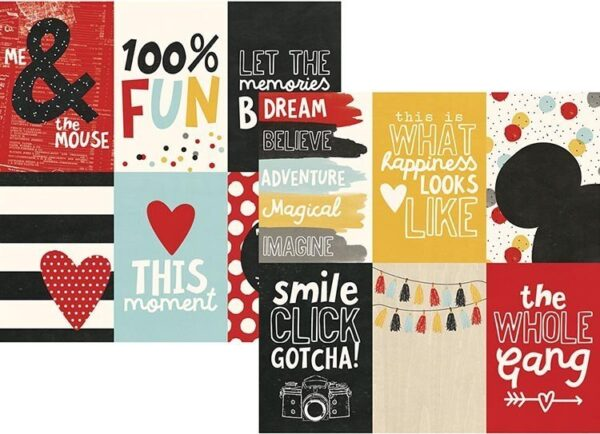 Papel para scrapbooking Simple Stories 4x6 Vertical Elements Say Cheese III - P