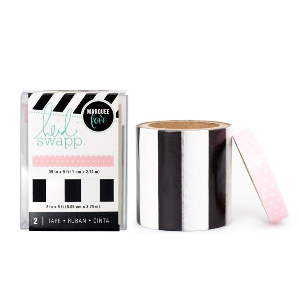 Tape Set - HS - Lightbox - Washi - Pink (2 Piece) - P