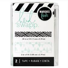 Tape Set - HS - Lightbox - Washi - Teal (2 Piece) - P
