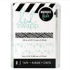 Tape Set - HS - Lightbox - Washi - Teal (2 Piece) - P