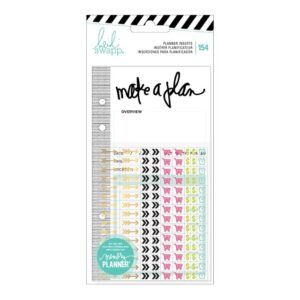 Planner Inserts With Stickers - HS - Memory Planner 2017 - Events (154 Piece) - P