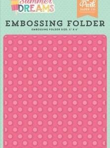 Embossing Folder -Sunny Dot - P