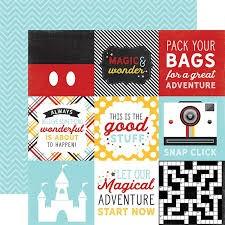 Papel para scrapbooking Echo Park 4X4 Journaling Cards Magic & Wonder - P