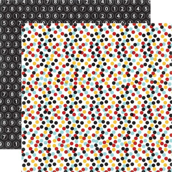 Papel para scrapbooking Echo Park Confetti Dots - P