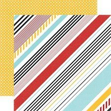 Papel para scrapbooking Echo Park Wonder Stripes - P