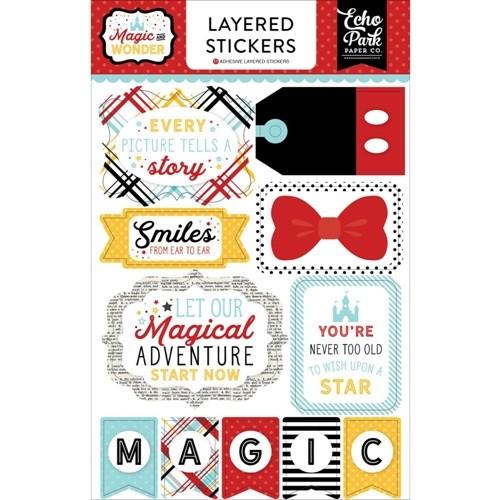 Layered Stickers - Magic & Wonder - P