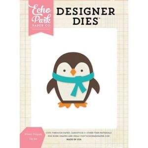 Winter Penguin Die Set - P