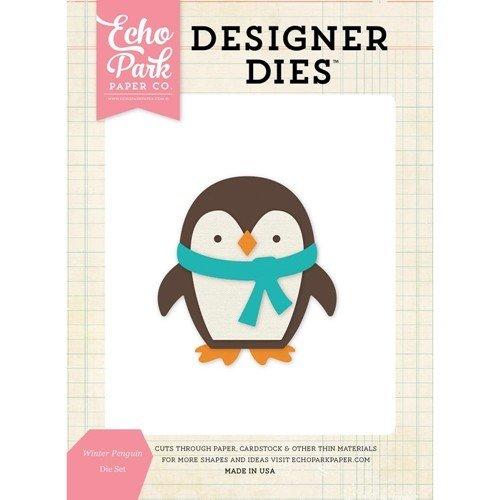 Winter Penguin Die Set - P
