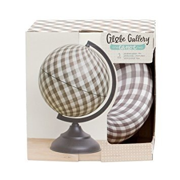 Globes - 1C2 - Globe Gallery - 8in - Gingham - P
