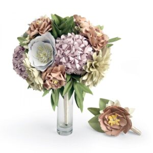 DIY Kit - Bouquet & Boutonniere by David Tutera - P