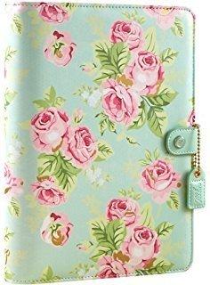 Mint Floral A5 Binder