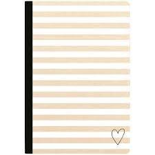Kraft Stripe - Lined