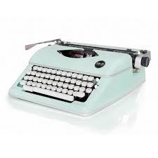Typewriter - WR - Typecast - Mint - P