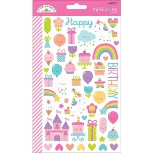 Fairy tales mini icons sticker - P