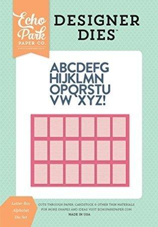 Die Set - Letter Box Alphabet - P
