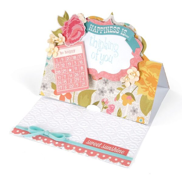 Sizzix Movers & Shapers XL Die - Card, Fancy Label Stand-Ups by Stephanie Barnard - P
