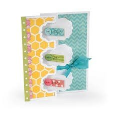 Framelits Die Set 9PK - Card, Triple Fancy Frame Flip-its by Stephanie Barnard - P
