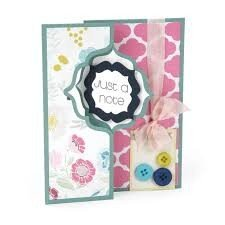 Framelits Die Set 10PK - Card, Regal Flip-its by Stephanie Barnard - P