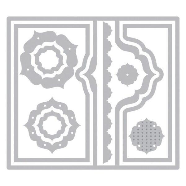 Framelits Die Set 10PK - Card, Regal Flip-its by Stephanie Barnard - P