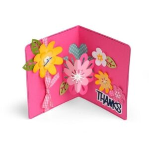 Framelits Die Set 21PK - Card w/Flowers 3-D Drop-ins by Stephanie Barnard - P
