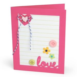 Framelits Die Set 14PK - Card w/Lovely Sentiments Drop-ins by Stephanie Barnard - P