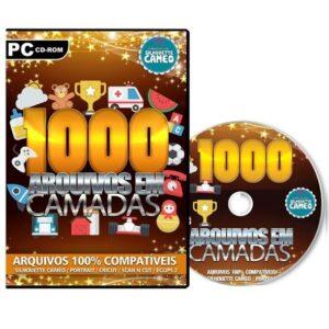 1000 Arquivos em Camadas