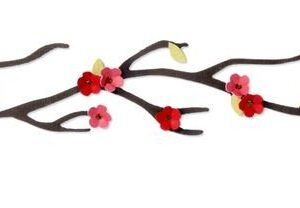 Sizzix Sizzlits Decorative Strip Die - Branch, Cherry Blossom by Stu Kilgour - P
