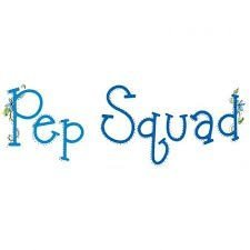 SIZZLITS ALPHABET SETS - Pep Squad™ Alphabet Set by Emily Humble - P