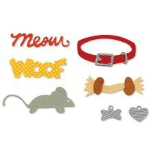 SIZZLITS DECORATIVE SETS (4 PK) - Pet Set by Emily Humble - P