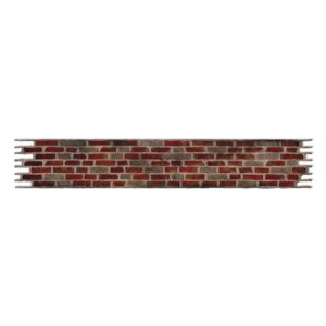 Sizzlits Decorative Strip Die - Brick Wall by Tim Holtz - P