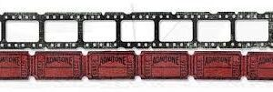 Sizzlits Decorative Strip Die - Mini Filmstrip & Mini Tickets by Tim Holtz - P