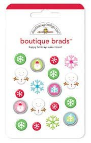 Happy holidays boutique brads