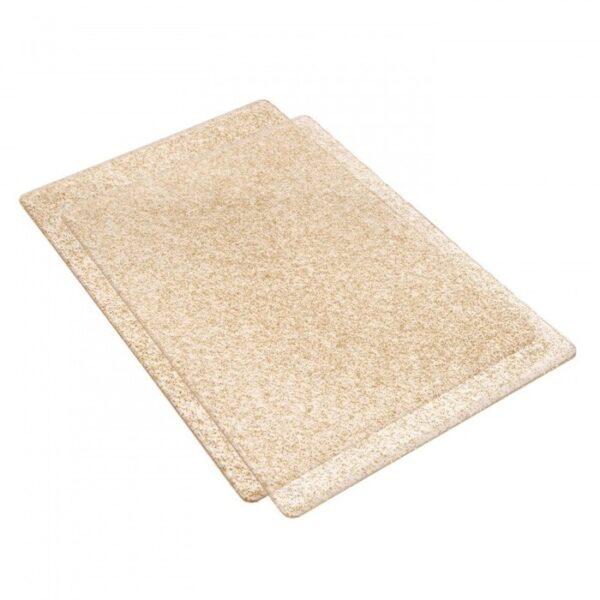 Accessory - Cutting Pads, Standard, 1 Pair (Clear w/Gold Glitter) - P
