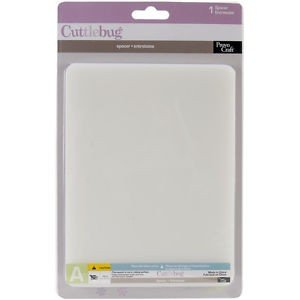 CB CuttleBug Acessórios - Base de Corte Branca - P