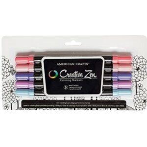 Markers - AC - Creative Zen - Henna - Pastel - (5 Piece) - P