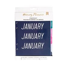 Starter Kit Marble Crush Memory Planner - Mixed - (60 Piece) - P
