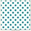 Papel para scrapbooking My Mind`s Eye Teals Dot – P