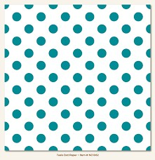 Papel para scrapbooking My Mind`s Eye Teals Dot - P