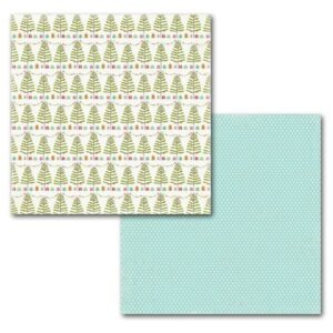 Papel para scrapbooking Carta Bella - Tinseled Tree - P