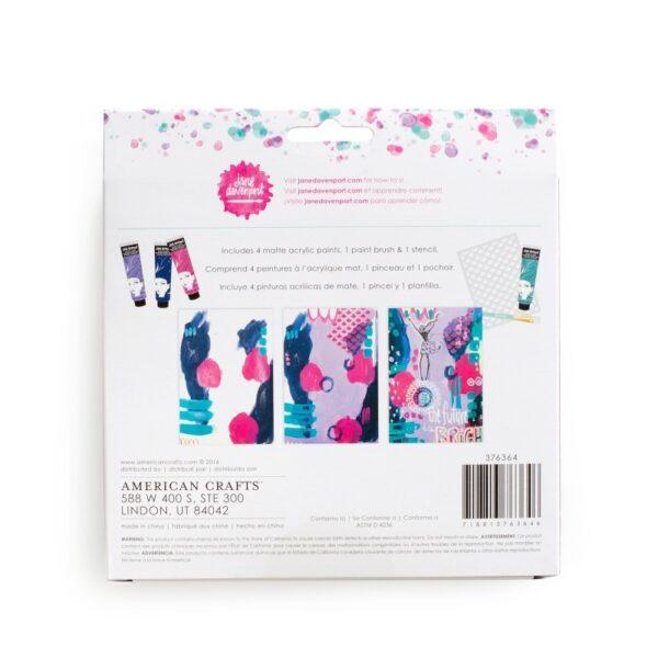 Paint & Paint Kits - JD - Mixed Media - Jane's Paint Kit (6 piece) - P