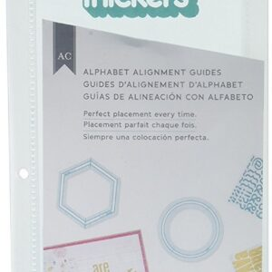 Tool - AC - Thickers Alignment Guide - Alphabet - Circle - P