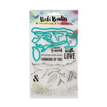 Mediums VB - Mixed Media - Stamps & Dies - Botanical - P