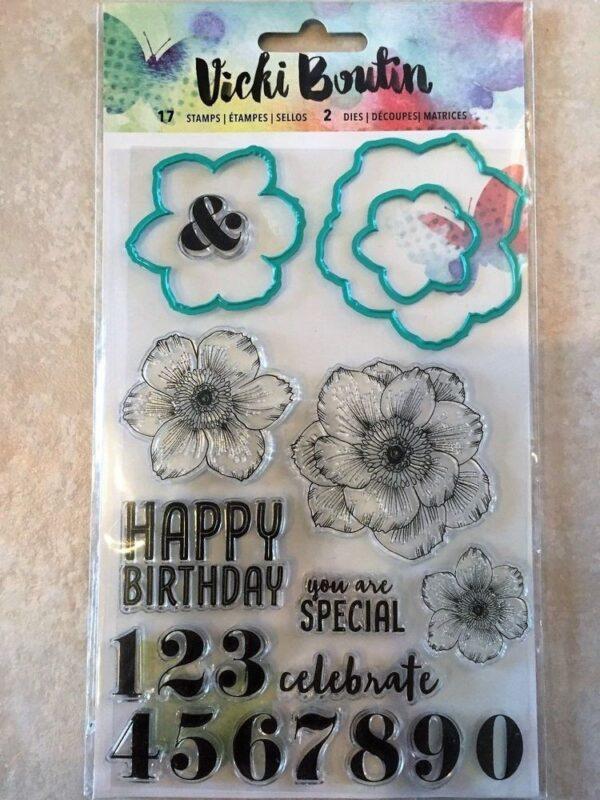 Mediums VB - Mixed Media - Stamps & Dies - Floral - P