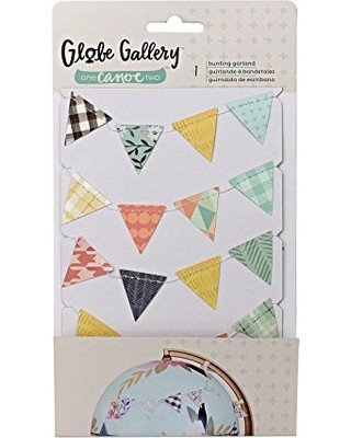 Embellishment - 1C2 - Globe Gallery - Bunting - 68in. - P