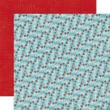Papel para scrapbooking Echo Park Winter Berries A Perfect Winter - P