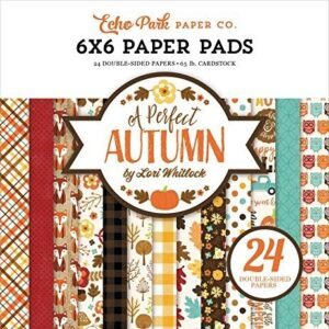 Paper Pad 6x6 - A Perfect Autumn - P